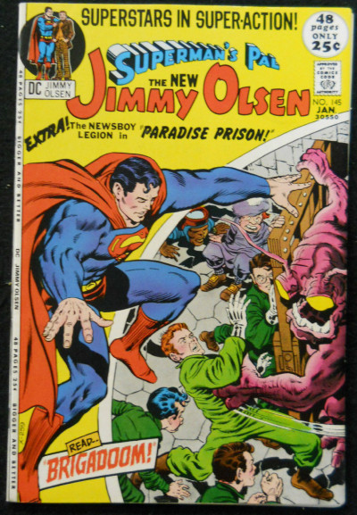 SUPERMAN'S PAL JIMMY OLSEN #145 NM JACK KIRBY