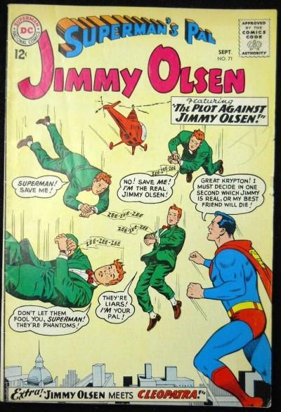 SUPERMAN'S PAL JIMMY OLSEN #71 VG+
