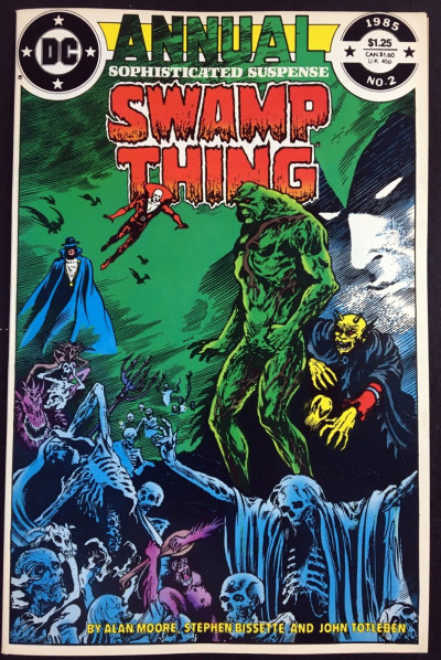 Swamp Thing Annual (1985) #2 NM (9.4) Justice League Dark Alan Moore
