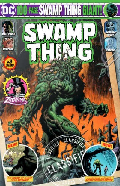 Swamp Thing Giant (2019) #3 VF/NM Kyle Hotz Cover 100-Page