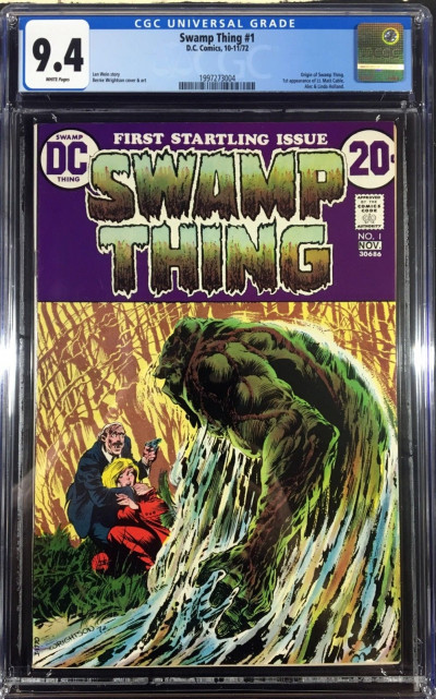 Swamp Thing (1972) #1 CGC 9.4 white pages (1997273004)