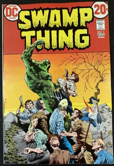 Swamp Thing (1972) #5 VF/NM (9.0) Bernie Wrightson cover & art
