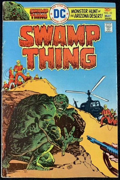 Swamp Thing (1972) #22 VG+ (4.5) Ernie Chan Cover Nestor Redondo Art