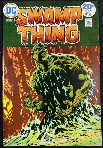 Swamp Thing (1972) #9 VF+ (8.5) Bernie Wrightson Cover & Art