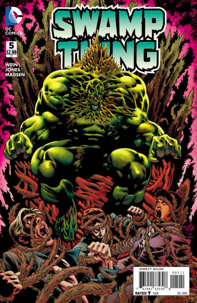Swamp Thing (2016) #5 VF/NM Kelly Jones