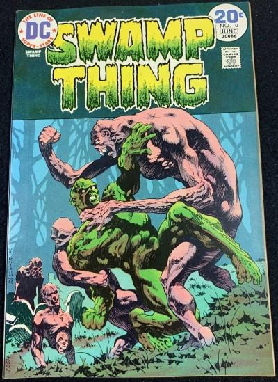 Swamp Thing (1972) #10 NM (9.4) Bernie Wrightson Cover & Art