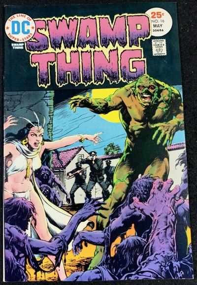 Swamp Thing (1972) #16 NM- (9.2) Nestor Redondo Art