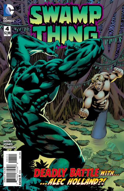 Swamp Thing (2016) #4 VF/NM Kelly Jones