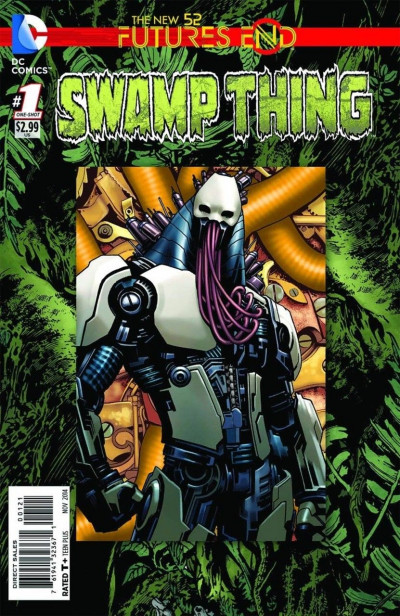 SWAMP THING: FUTURES END (2014) #1 VF/NM STANDARD COVER THE NEW 52!