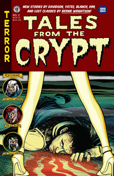 Tales From the Crypt (2016) #2 VF/NM Super Genius Comics