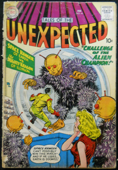 TALES OF THE UNEXPECTED #46 GD-