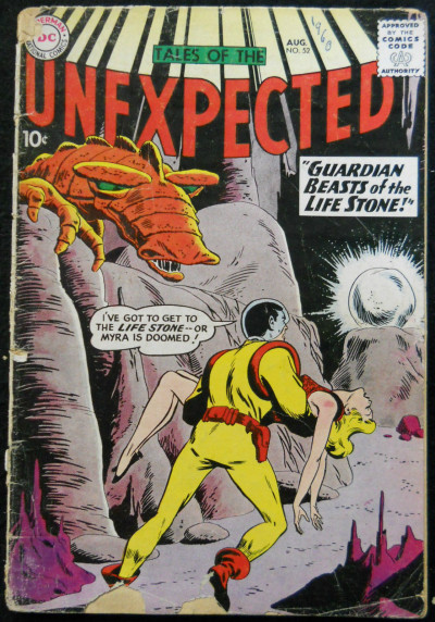 TALES OF THE UNEXPECTED #52 GD-