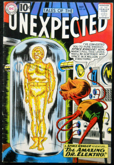 TALES OF THE UNEXPECTED #66 FN