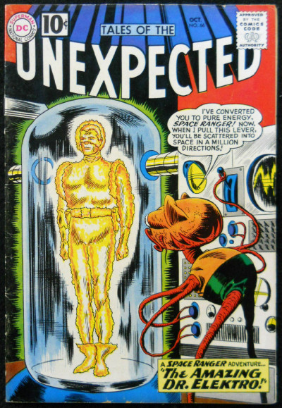 TALES OF THE UNEXPECTED #66 VG
