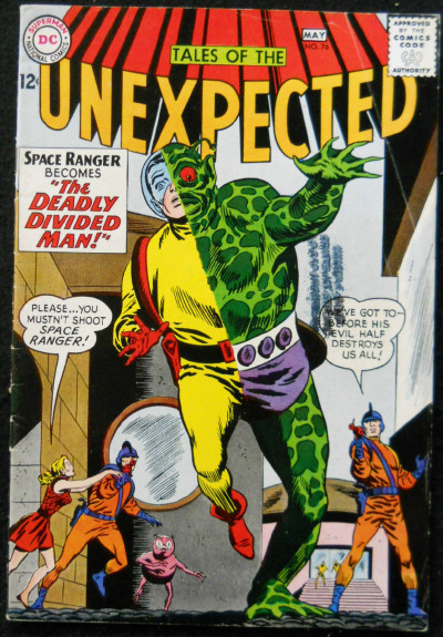 TALES OF THE UNEXPECTED #76 VG