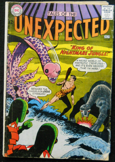 TALES OF THE UNEXPECTED #83 VG-