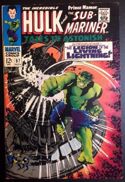 Tales To Astonish (1959) #97 FN (6.0) Sub-Mariner Hulk double feature