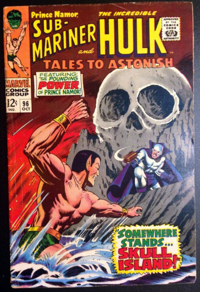 Tales To Astonish (1959) #96 FN (6.0)  Sub-Mariner & Hulk double feature