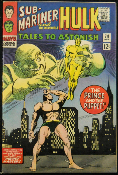 TALES TO ASTONISH #78 FN
