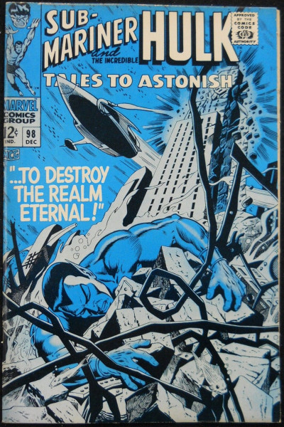 TALES TO ASTONISH #98 FN/VF