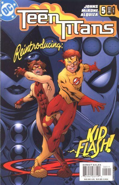 TEEN TITANS (2003) #5 NM KID FLASH