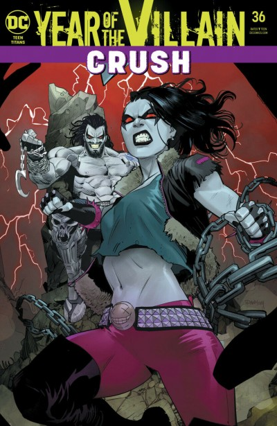 Teen Titans (2016) #36 VF/NM Bernard Chang Acetate Cover DC Universe