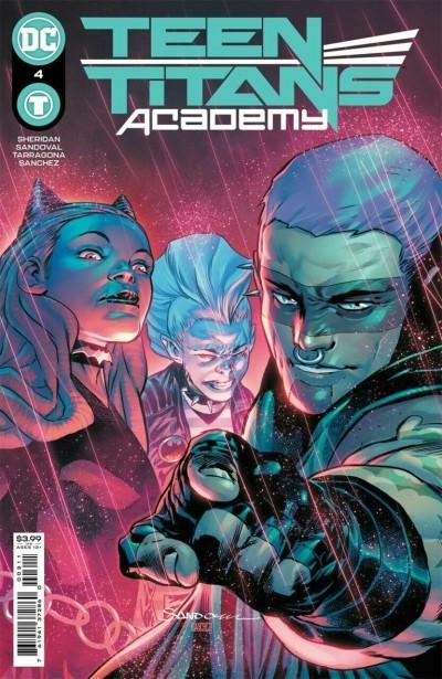 Teen Titans Academy (2021) #4 VF/NM Rafa Sandoval Cover