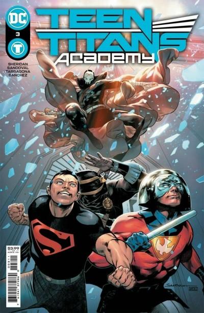 Teen Titans Academy (2021) #3 VF/NM Rafa Sandoval Cover