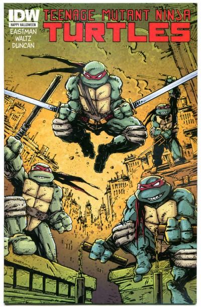 Teenage Mutant Ninja Turtles: Happy Halloween (2012) #1 VF/NM Eastman Cover IDW