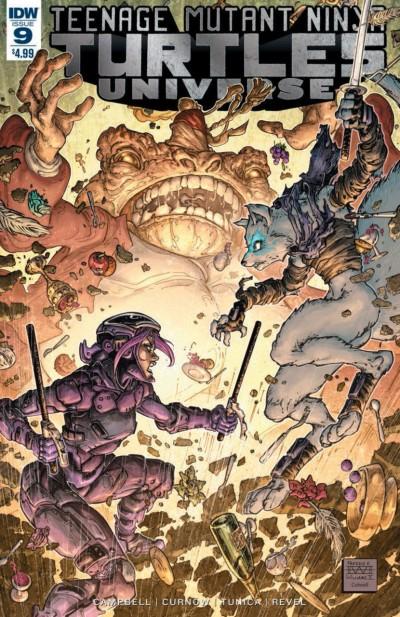 Teenage Mutant Ninja Turtles Universe (2016) #9 VF/NM Freddie William Cover IDW