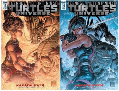 Teenage Mutant Ninja Turtles Universe (2016) # 9-24 VF/NM Freddie William Covers
