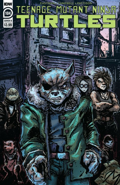 Teenage Mutant Ninja Turtles (2011) #104 VF/NM Kevin Eastman Cover B IDW