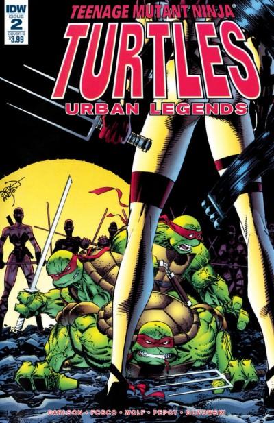 Teenage Mutant Ninja Turtles: Urban Legends (2018) #2 VF/NM Erik Larsen Cover