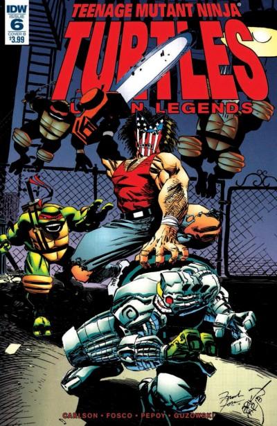 Teenage Mutant Ninja Turtles: Urban Legends (2018) #6 VF/NM Erik Larsen Cover