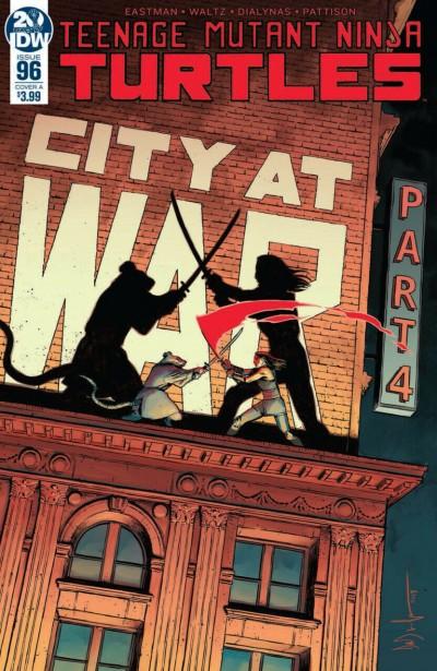 "Teenage Mutant Ninja Turtles (2011) #'s 96 97 98 99 100 ""City At War"" Part 2 Set"
