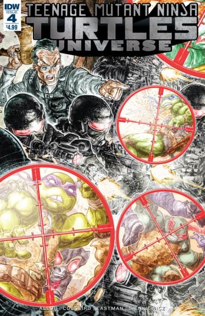 Teenage Mutant Ninja Turtles Universe (2016) #4 VF/NM Freddie Williams Cover IDW