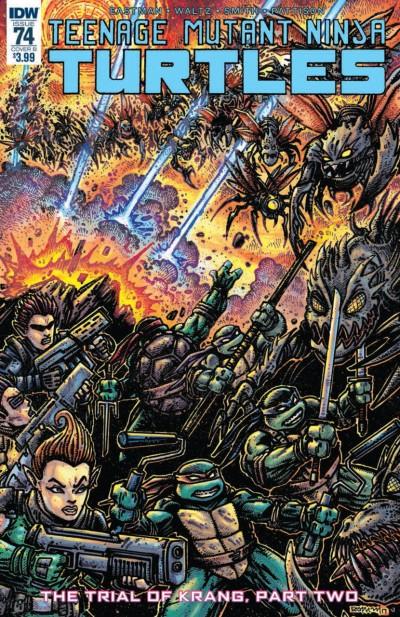 Teenage Mutant Ninja Turtles (2011) #74 VF/NM Kevin Eastman IDW