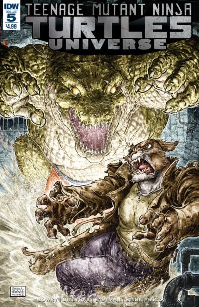 Teenage Mutant Ninja Turtles Universe (2016) #5 VF/NM Freddie Williams Cover IDW