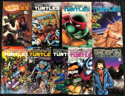 Teenage Mutant Ninja Turtles (1984) #2 3 4 2nd print 5-29 + more lot of 31 books
