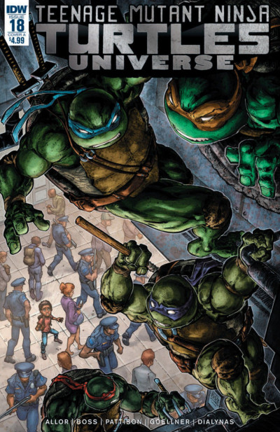 Teenage Mutant Ninja Turtles Universe (2016) #18 VF/NM Freddie William Cover IDW