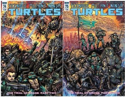 Teenage Mutant Ninja Turtles (2011) #67-71 73-83 VF/NM Set Kevin Eastman Variant