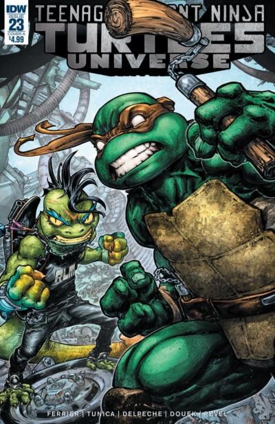 Teenage Mutant Ninja Turtles Universe (2016) #23 VF/NM Freddie William Cover IDW