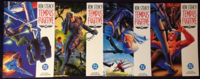 Tempus Fugitive (1990) #1 2 3 4 NM complete set Ken Steacy