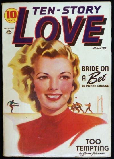 TEN-STORY LOVE MAGAZINE VOLUME 11 #2 PULP 1941