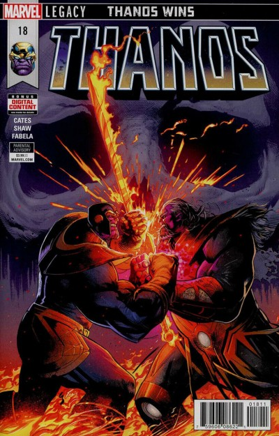 """Thanos (2016) #18 VF/NM Cosmic Ghost Rider Silver Surfer """"Thanos Wins"""" Part 6"""