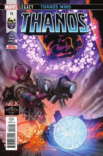 "Thanos (2016) #16 VF/NM Cosmic Ghost Rider Origin ""Thanos Wins"" Part 4"