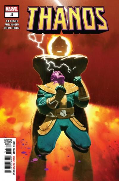 Thanos (2019) #4 VF/NM Jeff Dekal Cover