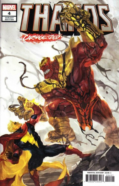 Thanos (2019) #4 VF/NM Sunghan Yune Carnage-ized Variant Cover