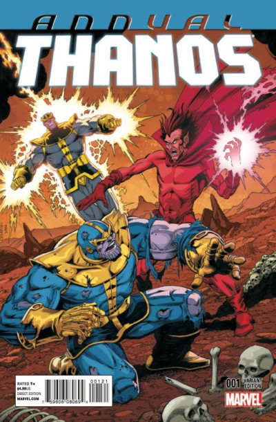THANOS ANNUAL (2014) #1 VF/NM JIM STARLIN VARIANT COVER