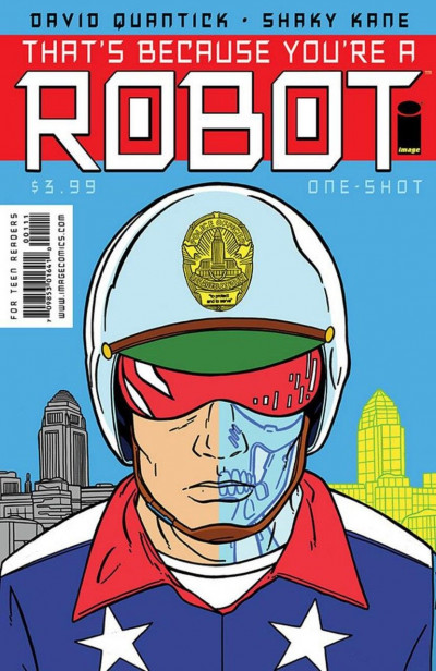 THAT'S BECAUSE YOU'RE A ROBOT #1 VF/NM IMAGE COMICS